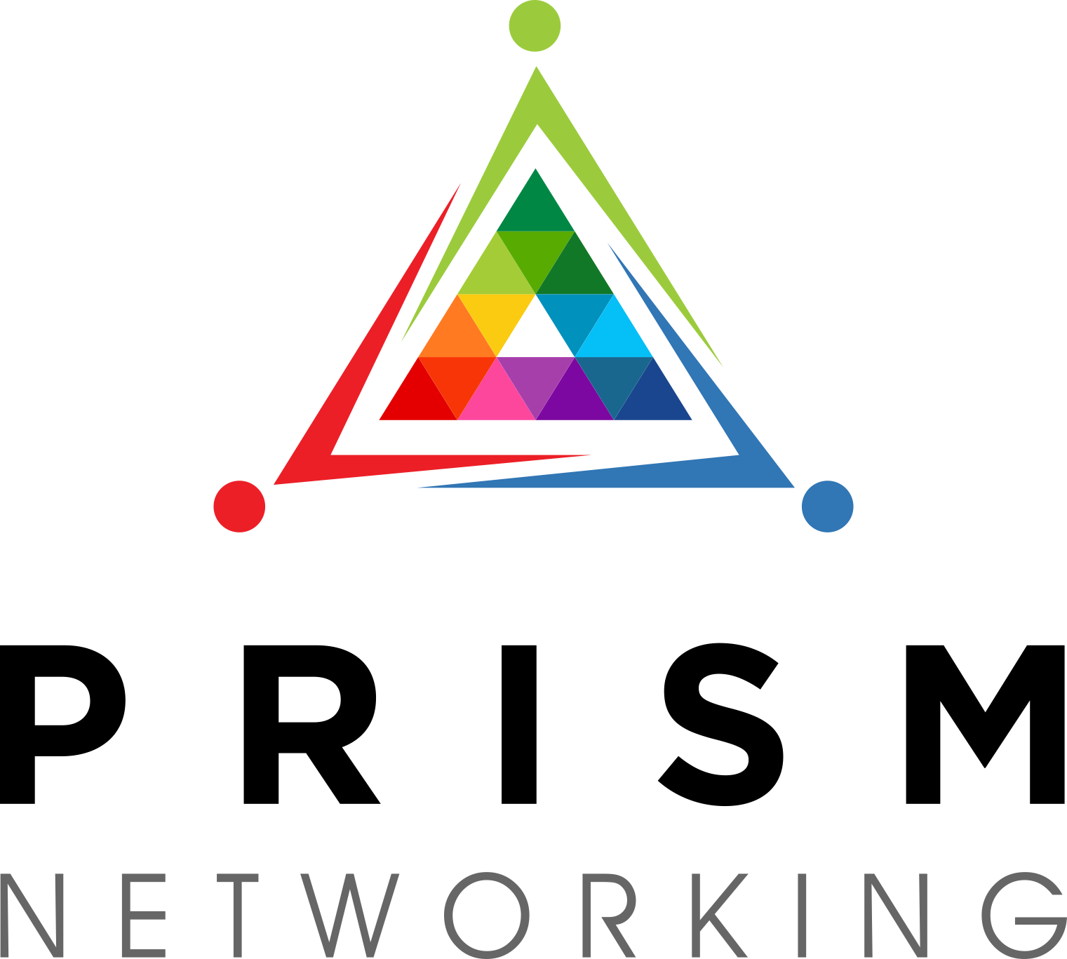 PRISM Networking Vertical Logo